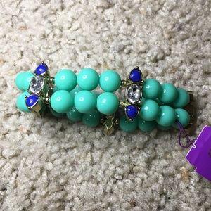 VERA WANG Bracelet - Teal and Blue Bracelet